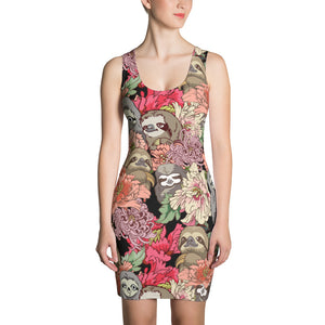 Because Sloths Sublimation Cut & Sew Dress