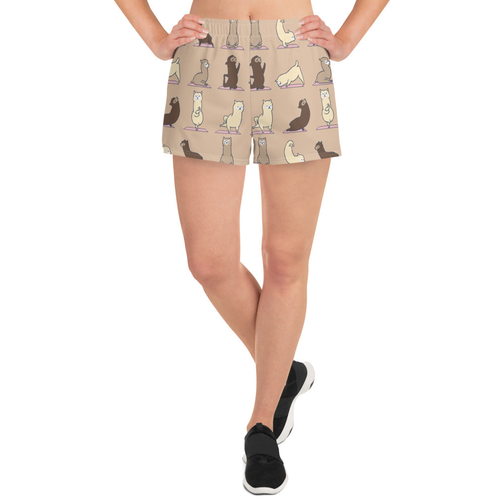 ALPACA YOGA Women's Athletic Short Shorts