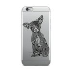 Polynesian Chihuahua iPhone Case