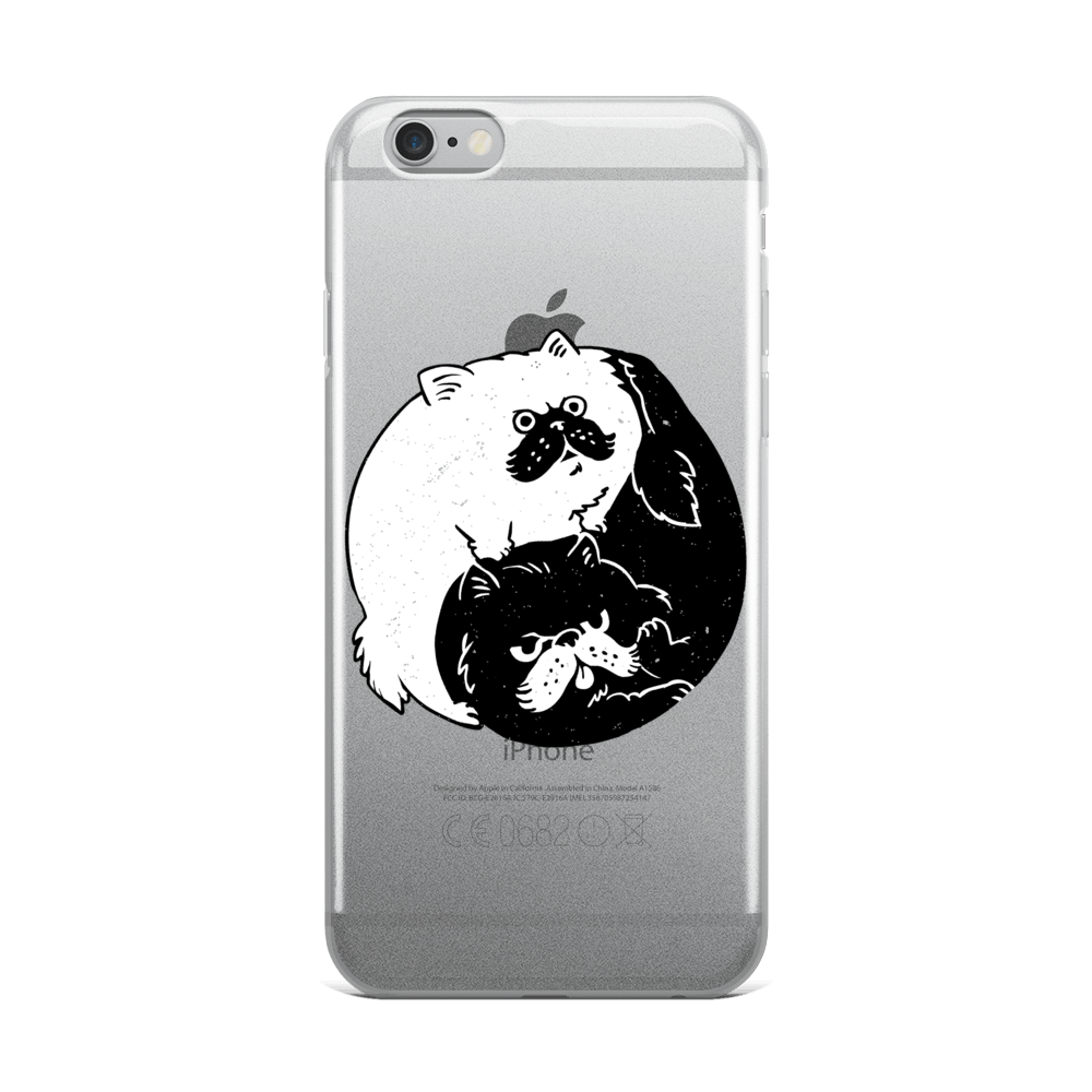 The Tao of Cats iPhone Case