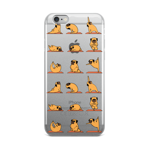 Pug Yoga iPhone Case