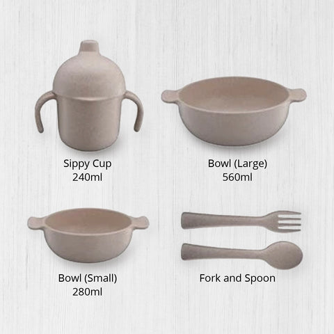 Wheat Fiber Children Tableware