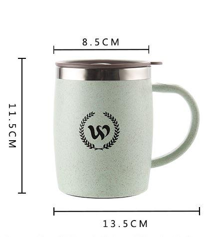 304 Stainless Steel Mug Cup Coffee Cup 420ml