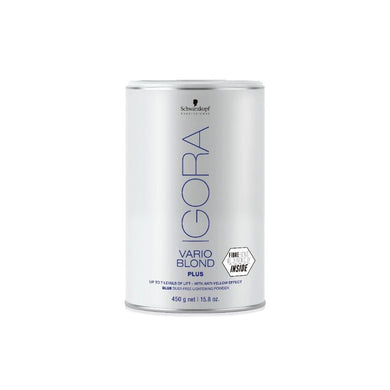 IGORA VARIO BLOND PLUS POWDER LIGHTENER BLUE 450G - NUEVO FORMATO