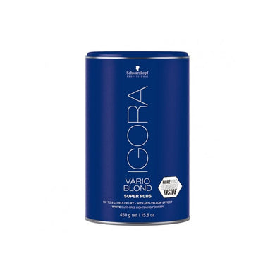 IGORA VARIO BLOND PLUS SUPER POWDER LIGHTENER WHITE 450G - NUEVO FORMATO