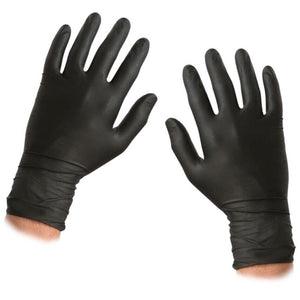 Guantes Nitrilo Negro 100uds