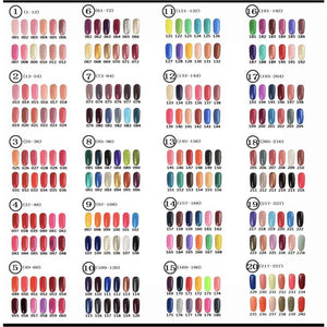 Esmalte semipermanente Greenstyle 10ml ( 101-200 )
