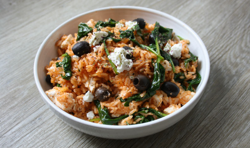 Mediterranean Rice with Seaweed