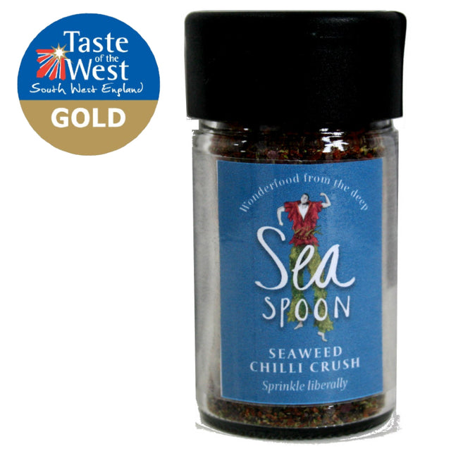 It's a GOLD winning taste, for Seaweed Chilli Crush