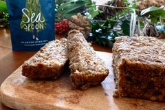 Christmas Nut Roast with Seaweed | Vegan recipe