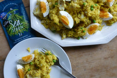 Smoked Haddock and Seaweed Kedgeree