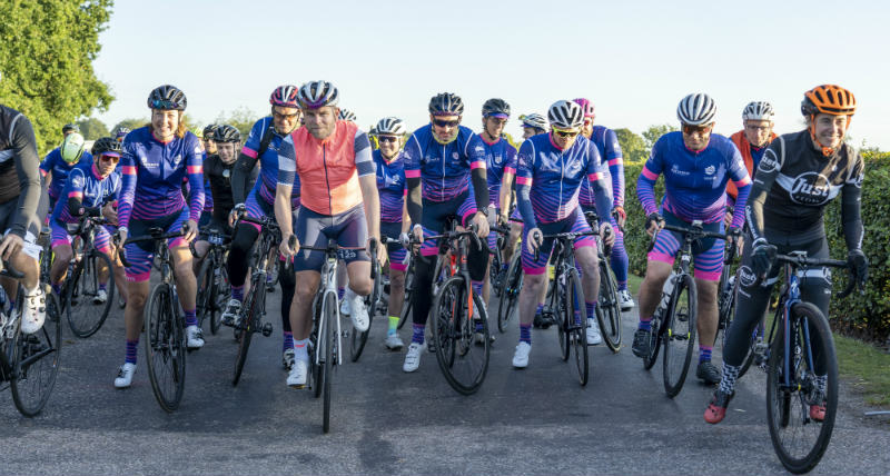Blue Marine Foundation London to Monaco bike ride 2019