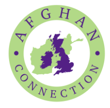 Bradfield literary festival afghan connection logo
