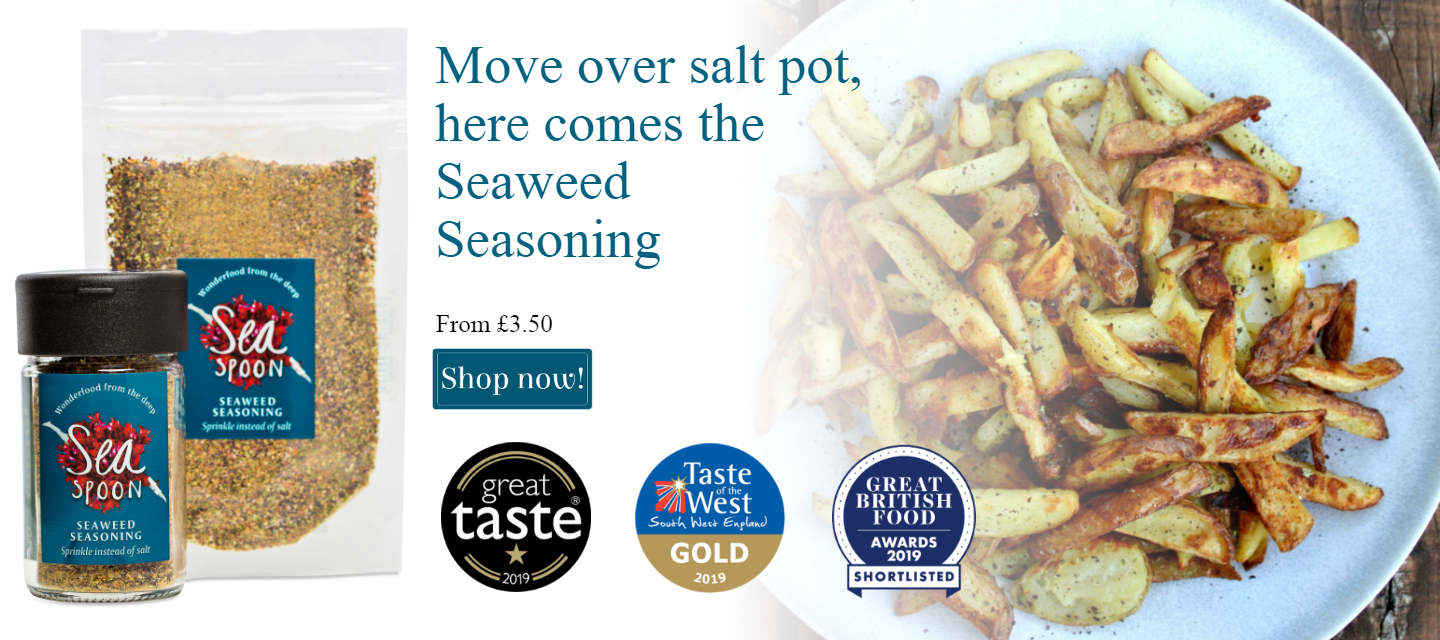 Award winning seaweed seasoning - buy online today
