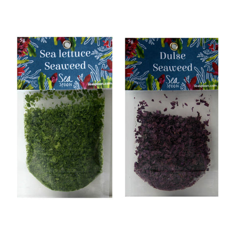 Buy edible seaweed online, dulse and sea lettuce