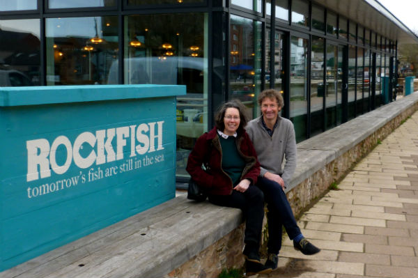 Tim Buckley and Kate Tullberg, Seaspoon, at Rockfish Exeter Quays