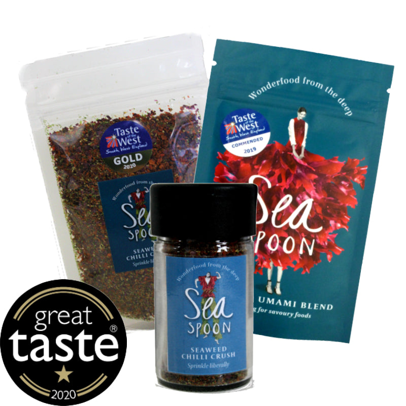 2020 Award winners bundle | Seaweed Umami and Chilli Crush