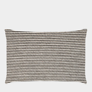 Oblong Striped Cushion