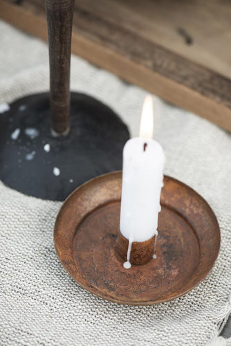 Rusty Candle Holder