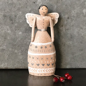 Folkart angel-Natural