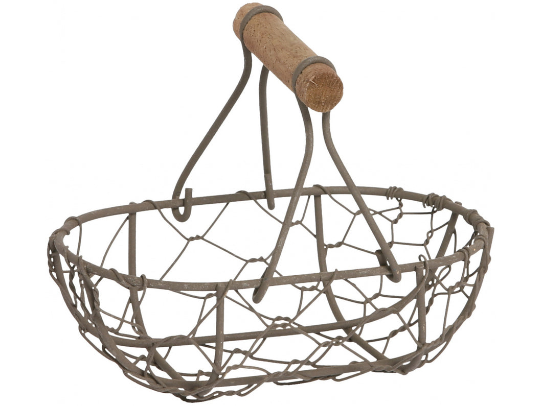 Wire Metal Basket with Handle
