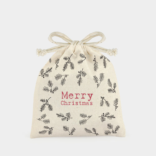 Drawstring bag-Berries/Christmas