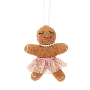 Ginnie Tutu Wonderland Gingerbread Decoration