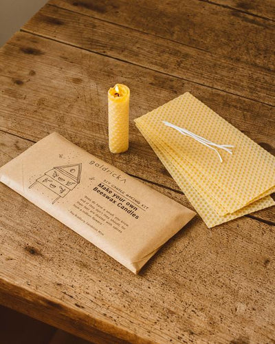 Beeswax Candle Making Kit