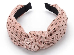 Spotty Twist Headband