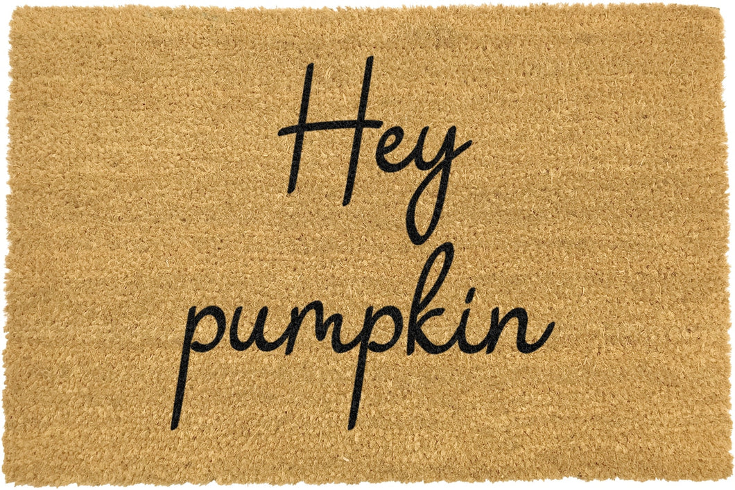 Hey Pumpkin Doormat