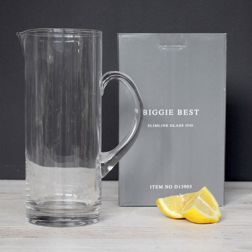 Slimline Glass Jug Boxed