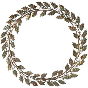 Holly Wreath Vintage