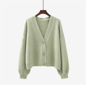 The Peggy Cardi- Pistachio