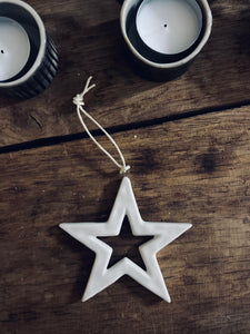 Handmade Ceramic Star