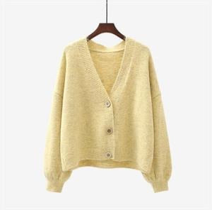 The Peggy Cardi- Soft Yellow