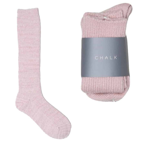 Luxury Pink Cosy Socks
