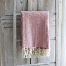 Pink Wool Throw