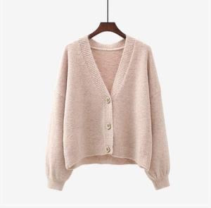 The Peggy Cardi- Soft Pink