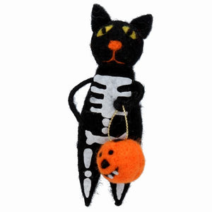 Magic The Trick Or Treating Cat