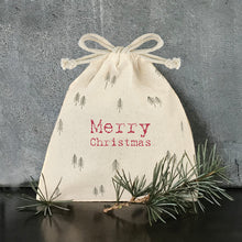Drawstring tree bag-Merry Christmas