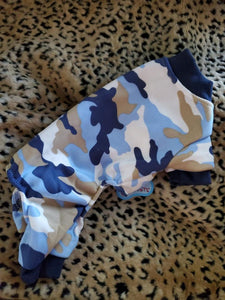 Camouflage Printed Dog Jumpsuit
