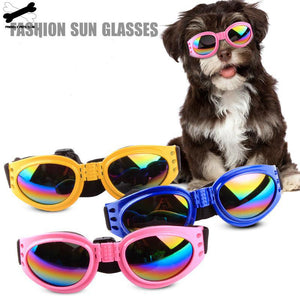 Dog Sunglasses Protection Goggles UV Foldable