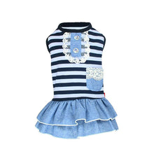 Cute Costume Striped Dog Dress