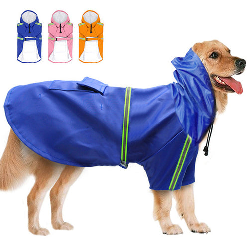 Reflective & Waterproof Dog Raincoat - Puppy Capital