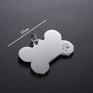 Pet ID Tag for Dog & Cat Collars - Puppy Capital