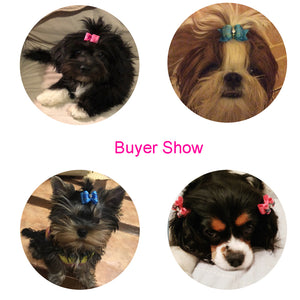 Cute Handmade Bows For your lovely Dogs 10ea