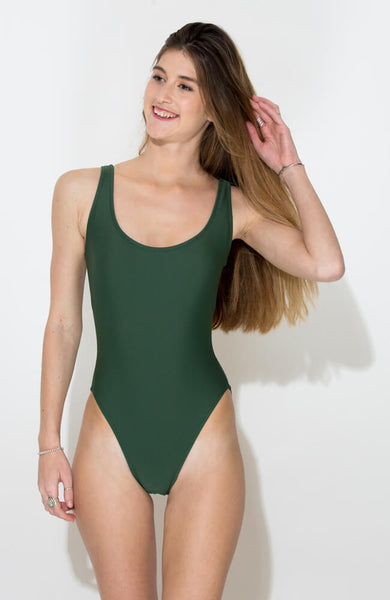 GREEN CARMEN ONE PIECE2