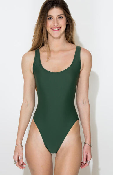 GREEN CARMEN ONE PIECE