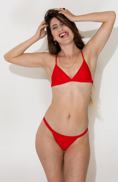 red vitoria bikini set1
