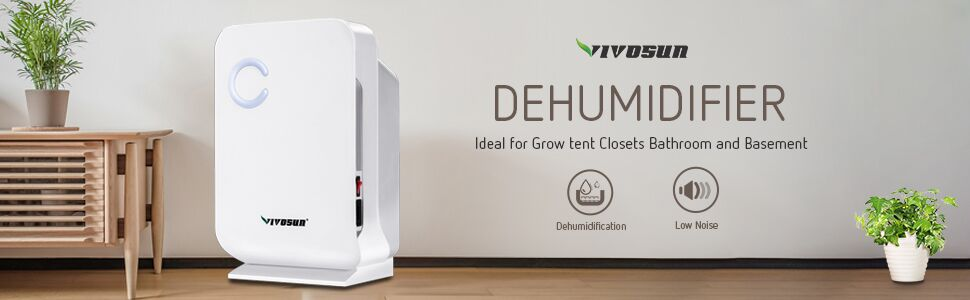 Mini Dehumidifer for Grow Tent